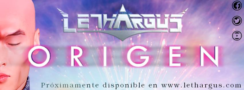 "Presentamos ""Origen"", primer Cd de Lethargus"