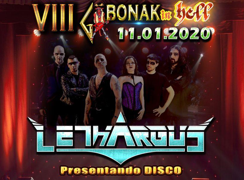 Lethargus en Donosti en el VIII GABONAK IN HELL Fest