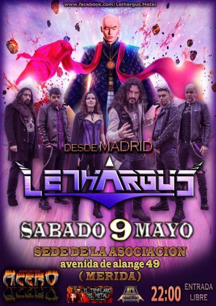 Lethargus en Concierto en Mérida