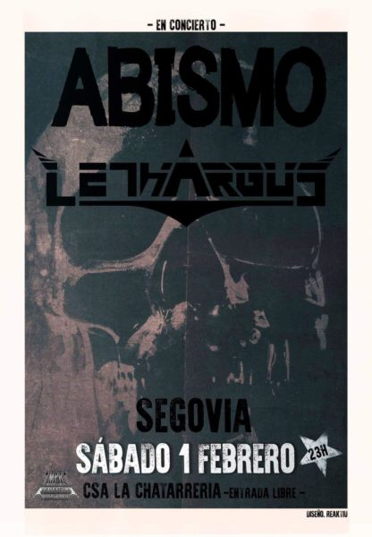 Lethargus en Segovia junto a Abismo